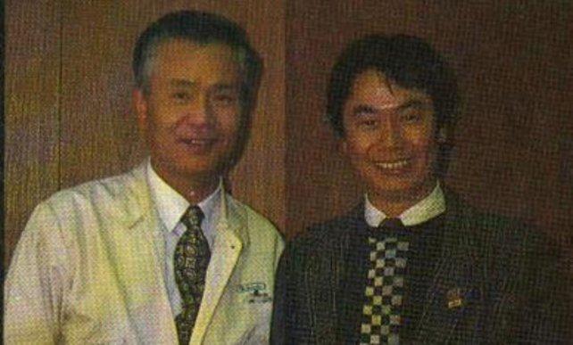 Alter Hase und Jungspund: Von Yokoi hat Miyamoto (rechts) viel gelernt.