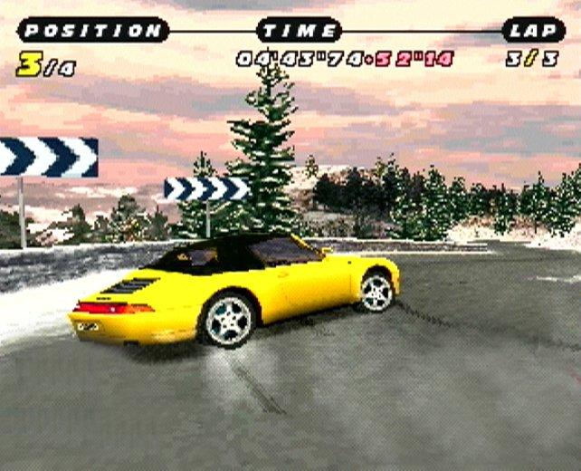2000 erscheint ein Need for Speed nur mit Porsche-Wagen.