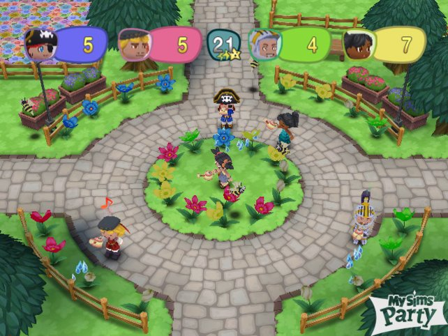 Knuffig und kitschig - so präsentieren sich die putzigen Sims.