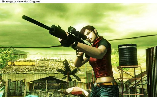 Claire Redfield darf sich im Mercenaries-Modus austoben.