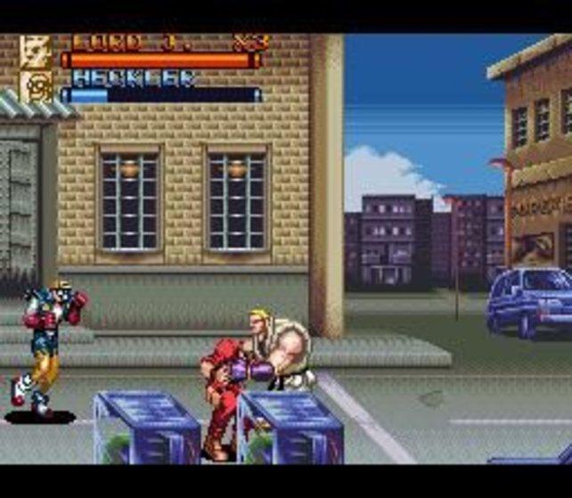 Die 2D-Klopperei ist nett, aber es gibt doch weit bessere Brawler auf der Virtual Console.