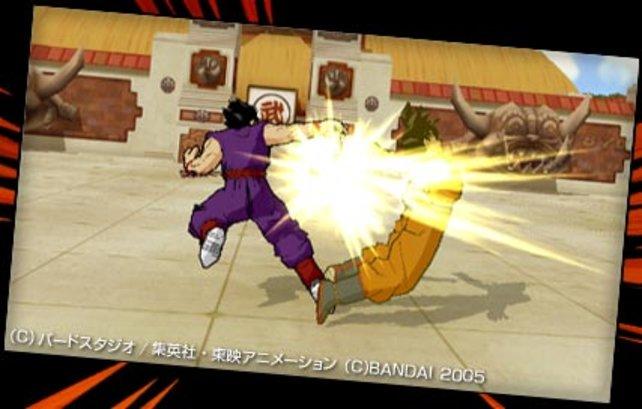 Goku hat nicht aufgepasst...