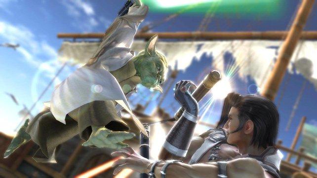 Meister Yoda kämpft exclusiv auf der Xbox360.