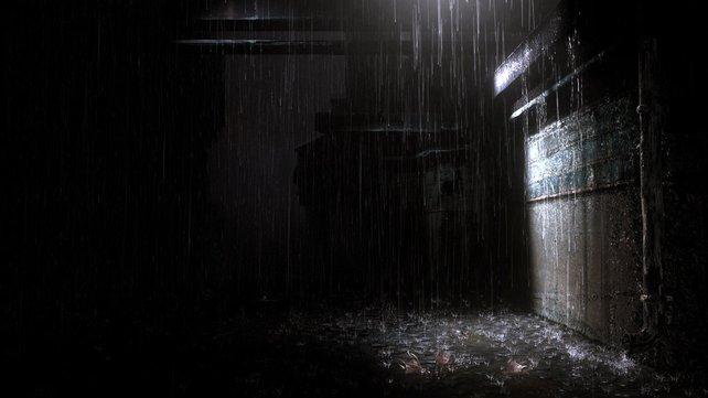 Der Regen spielt eine wesentliche Rolle...