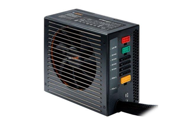 Straight Power E8 CM 680W vom Hersteller be quiet! liefert genug Leistung auch für stromhungrige Rechner.