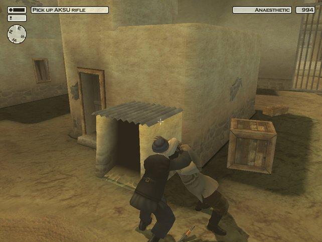 Agent 47 macht auch mit Turban eine gute Figur.