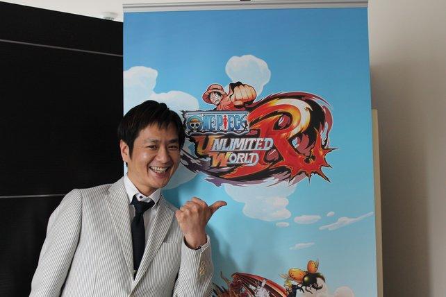 """Daisuke Uchiyama: langjähriger Produzent der """"One Piece""""-Serie."""