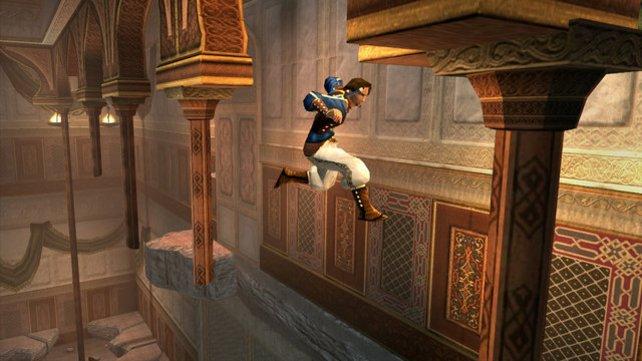 Da sieht selbst Lara Croft alt gegen aus: Noch nie kletterte ein Held schöner als der Prinz.