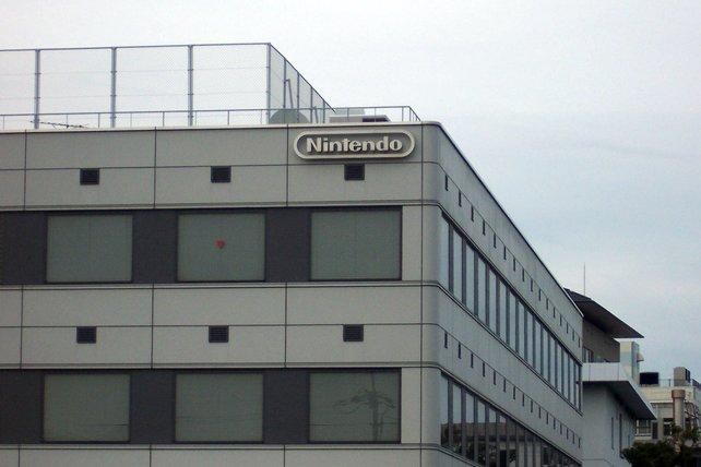 Das Hauptquartier von Nintendo in Kyoto.
