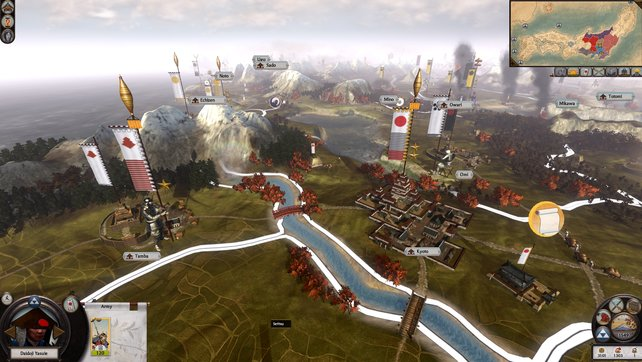 Rundenbasiert verschiebt ihr Truppen und erobert Städte. Schlachten schlagt ihr in Echtzeit.