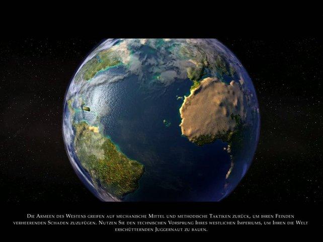 Ausleben der Allmachtsphantasien auf dem 3-D Globus