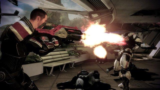 In alter Frische: Wer möchte, kann seinen Commander Shepard aus dem Vorgänger importieren.