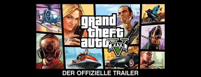 GTA 5: Der neue, offizielle Trailer ist da!