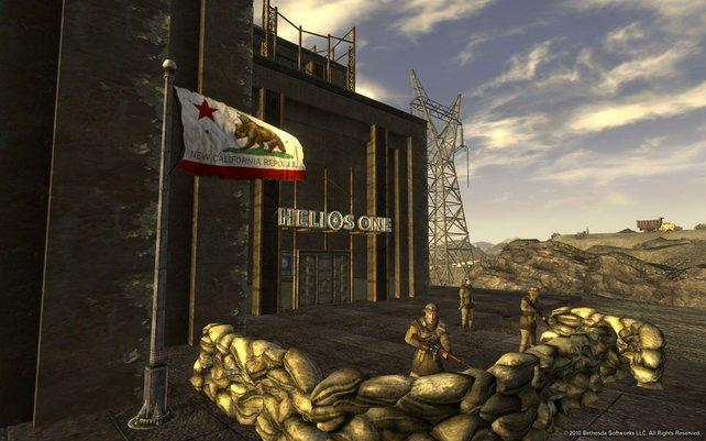 Die New California Republic ist eine wichtige Fraktion im Spiel.