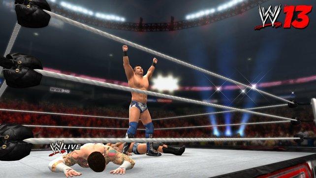 Grafisch unterscheidet sich WWE '13 nicht sonderlich vom Vorgänger.