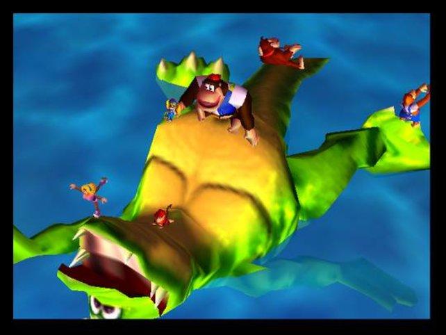 Donkey Kong 64 bietet euch mehr Freiheiten als die Vorgänger.