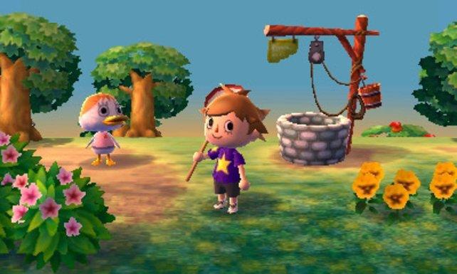 Als Bürgermeister verschönert ihr die Stadt. Beispielsweise mit einem Brunnen.