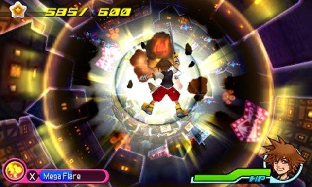 Sora und Riku fallen regelrecht in neue Welten.