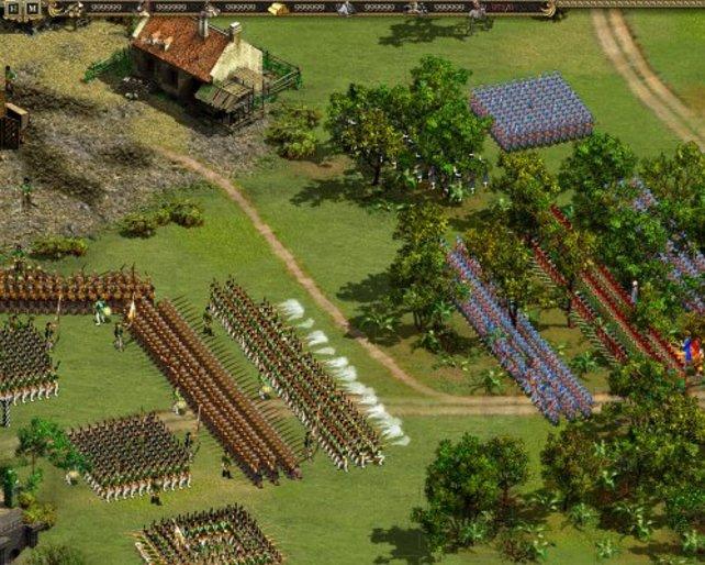 In Cossacks 2 gibt es gewaltige Armeen