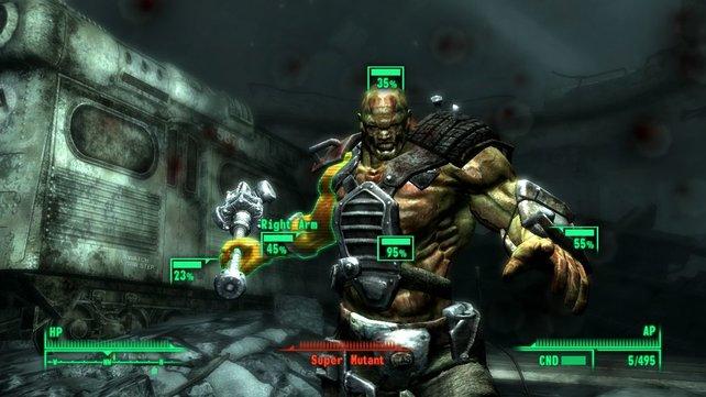 Fallout 3: taktische Rundenkämpfe oder Shooter-Modus - ihr habt die Wahl