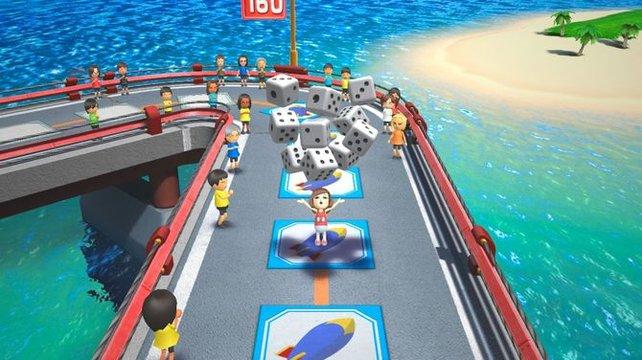 """""""Brückensprinter"""" ist optimal zum Reinschnuppern in Wii Party U, macht aber so viel Spaß, dass ihr sicherlich oft darauf zurückkommt."""