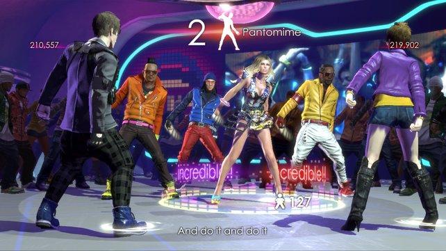 Im Spiel erwarten euch dieselben Choreografien, die die Musikgruppe auch auf der Bühne hinlegt.