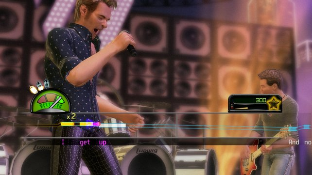 Wie üblich stehen die Positionen Bass, Gitarre, Drums oder Gesang zur Wahl.