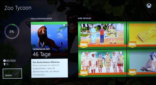 Die Online-Herausforderungen sind eine Neuheit bei der Xbox One.