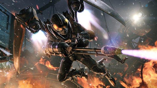 Superschurke Firefly setzt die Pioneer Bridge in Brand und nimmt noch dazu Zivilisten als Geiseln.