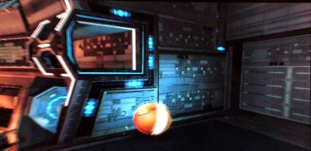 In Metroid Prime 3 erkundet Samus hauptsächlich hochtechnisierte Gebiete.