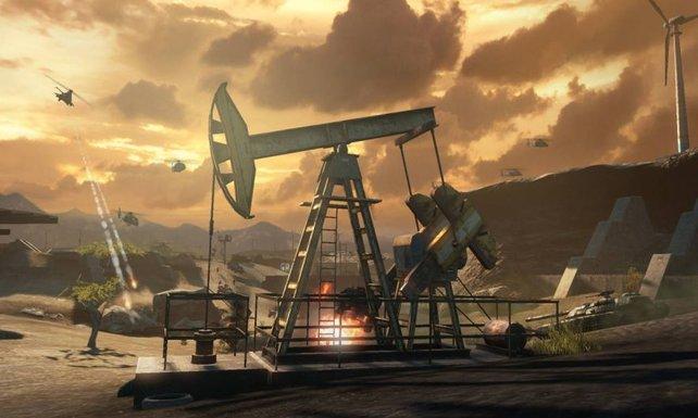 In Frontlines dreht sich alles um das Öl.