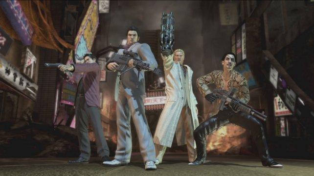 Für eine Handvoll Yen: Diese glorreichen Vier spielen die Hauptrolle.