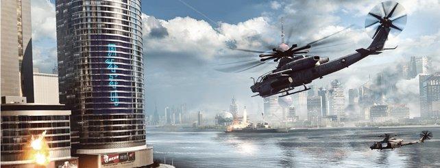 Battlefield 4: In Deckung gehen mit der Kinect-Kamera