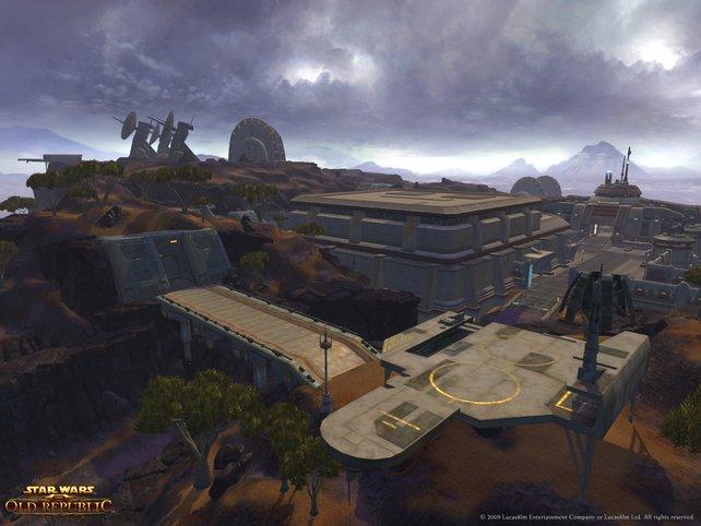 Die Galaktische Republik wird bedroht.