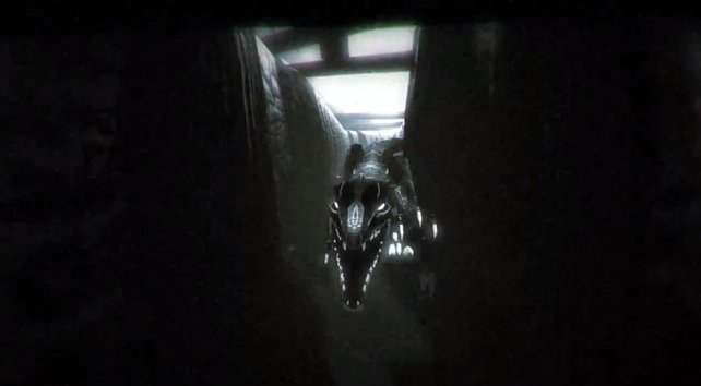 Wenn ein solcher Dinosaurier hinter einer Ecke hervorschießt, erschreckt ihr euch garantiert.
