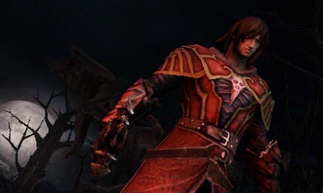 Anfangs schlüpft ihr kurz in die rote Rüstung von Gabriel Belmont.