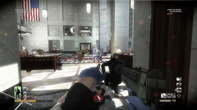 Na also, man kann auch Ego-Shooter ohne Kriegs-Szenarien machen!