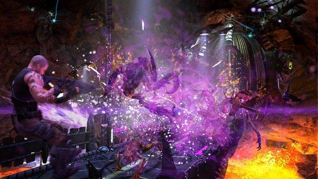 In Armageddon zerstört ihr nicht nur - ihr errichtet auch wieder kaputte Bauten.
