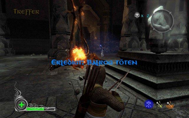 In den Minen von Moria tretet ihr dem Balrog entgegen.