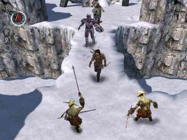 Im Eislevel lassen die Gegner Badehosen fallen