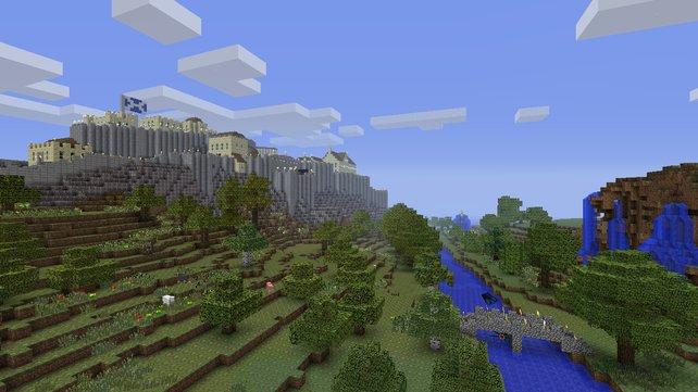 Die Blocklandschaften von Minecraft erstrecken sich theoretisch unendlich - aber nur theoretisch.