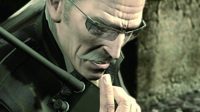Ihr seht: Liquid Ocelot. Der Geist von Liquid Snake hat inzwischen vollständigen Besitz von Revolver Ocelots Körper.