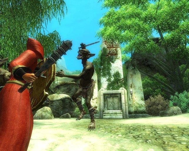 Nehrim bietet neben neuen Gegner auch eine eigenständige Geschichte.
