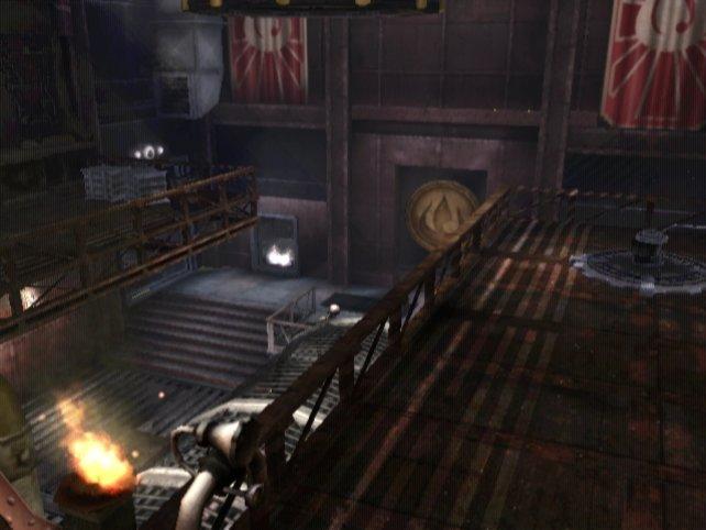 Im Mehrspielermodus trefft ihr auf Umgebungen, die ihr schon im Singleplayer gemeistert habt.