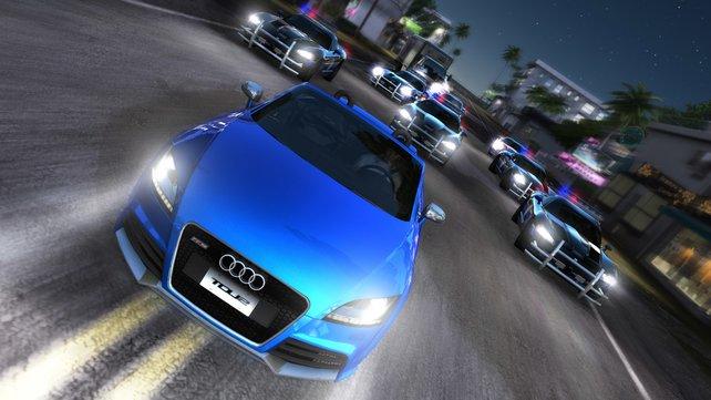 Wie in Need For Speed macht ihr Online Jagd auf Verkehrssünder.