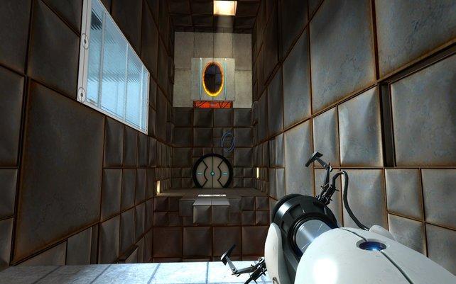 Portal ist das interessanteste Spiel der Orange Box.