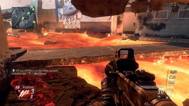 """Bei """"Magma"""" ist der Name Programm: Tödliche Lava erschwert das Online-Leben."""