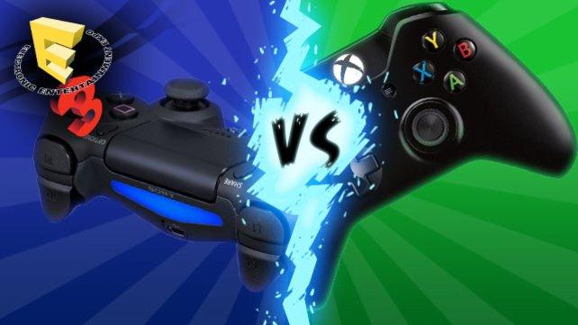 Die neuen Controller als Sinnbild für die Plattformen: Kampf zweier Ideologien.