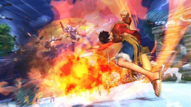 Die effektvollen Kämpfe sind das Hauptaugenmerk von One Piece - Pirate Warriors 2.