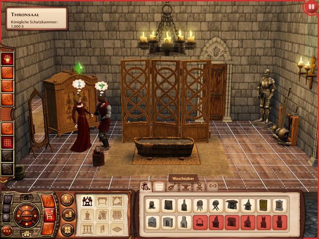 Architekten gehen leer aus: Das Spiel besitzt lediglich einen Dekorationsmodus.
